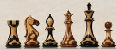 Chess sets from The Chess Piece chess set store: The Supreme Choco Chess pieces, Wooden Chessmen