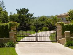 Driveway Gates Design Ideas, Pictures, Remodel and Decor