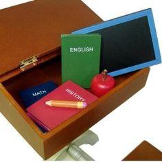 "Amazon.com: School Desk Supply Accessory Set for American Girl 18"" Dolls: Toys & Games"