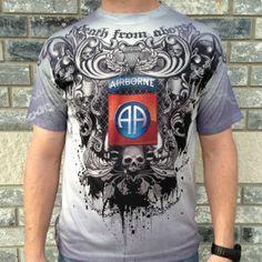 "82nd Airborne ""Gothic Rising"" t-shirt"