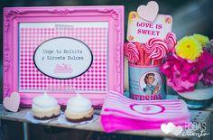 Mesa de postres para bodas de La CandyBar · Tendencias de Bodas Magazine
