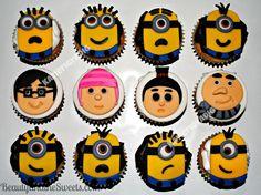Despicable Me 2 Cupcakes Wallpaper