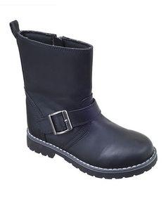 Look at this #zulilyfind! Black Tanner Boot #zulilyfinds