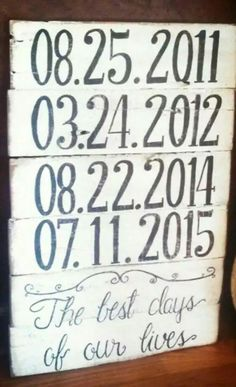 Upcycle. Pallet into sign