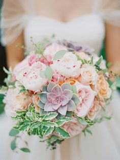 Stunning Wedding Bouquet - Michael And Anna Costa Photography - Belle The…