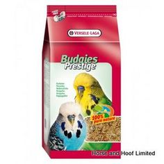 Versele Laga Budgie Prestige IMD Budgie Food 20kg Budgie IMD Prestige is a feed that can help them live a healthy life with improved gastrointestinal health and feather quality.