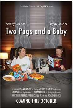 Pregnancy announcement movie poster