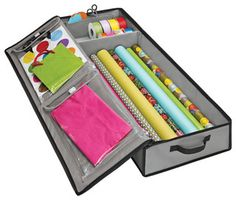 Gray Wrap & Tote Organizer - contemporary - storage and organization -  - by The Container Store