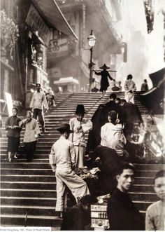 British Hong-Kong 1931. Photo : W. Robert MOORE
