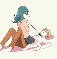 Michiru and Haruka.. foreplay!