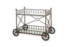 Etruscan Serving Cart Iron Furniture, Outdoor Furniture, Serving Cart, Kitchen Cart, Lighting Design, Contemporary, Home Decor, Light Design, Kitchen Trolley