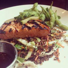 Miso Grilled Salmon   Photo by Instagram User spoonuniversity_cornell #houlihans #SoEatingThis