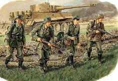 1943 Panzergrenadier Division Grossdeutschland a Karachev - Ron Volstad - Dragon