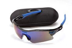 f1e9d7b9389 Discount Oakley Radar Pitch Sunglasses Dark Grey Frame Blue Lens On Sale   Cheap  Oakleys Sunglasses