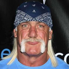 I'm real critical of myself and if I take the bandana off my head I'm completely bald headed and go from being 58 to looking 68 instantly. Hulk Hogan