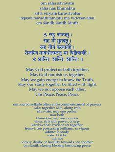 Sanskrit Prayers and Mantras Sanskrit Quotes, Vedic Mantras, Hindu Mantras, Yoga Mantras, Yoga Quotes, Yoga Meditation, Chakras, Sanskrit Language, Gayatri Mantra
