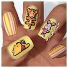 whinne the pooh nail art