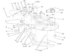 Toro Lawn-Tractor 71212 Parts List