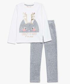The Cheapest Price Jam Jam Pyjama 2 Pièces Haut Et Bas Fille 6 à 23 Mois Motif Fée Pailletée. Pyjamas Vêtements Filles (0-24 Mois)