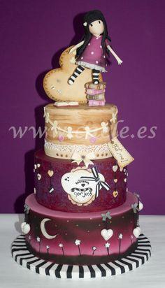 Gorjuss cake - Cake by Caele´s Cakes