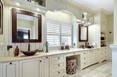Native Trails Sedona Rectangle Mirrors - copper mirrors - Kiawah Island Owners Suit Renovation - transitional - Bathroom - Charleston - Jill Frey Kitchen Design