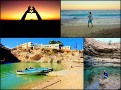 Reasons to visit Oman. Visitors are blown away by the wild landscape, friendly people, sparkling white beaches, mountain ravines and surrounding mountains. Blown Away, Muscat, Middle East, Mountains, Landscape, Beach, Scenery, The Beach, Beaches