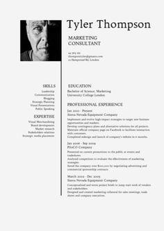 Desygner Resume Template  Cv Template  Modern Cv Design  DonT
