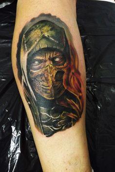 scorpion by Anju tattoo
