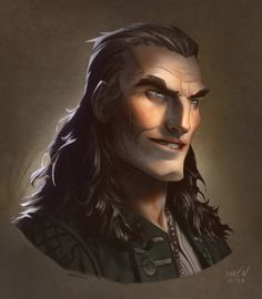 Another pirate by Magnus Noren.  @we-are-pirate on Tumblr