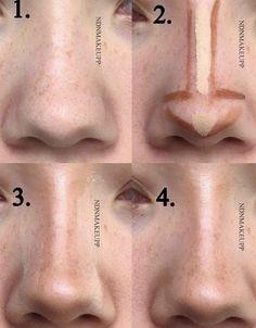 Nose Makeup, Edgy Makeup, Makeup Eye Looks, Grunge Makeup, Eye Makeup Art, Simple Makeup, Skin Makeup, Makeup Inspo, Makeup Ideas