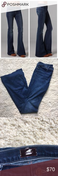 """Mother Denim """"The Curfew"""" Only been worn once & in perfect condition MOTHER Jeans Flare & Wide Leg"""