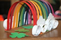St. Patrick's Day. Leprechaun Trap. Family Fun. Catch A Leprechaun. Rainbow.