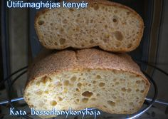 Útifűmaghéjas kenyér (Gluténmentes) Sin Gluten, Focaccia Pizza, Greens Recipe, Ketogenic Recipes, Lchf, Cake Recipes, Clean Eating, Low Carb, Sweets