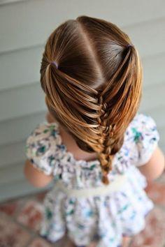 coiffure fillette idée super sympa