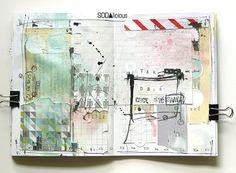 made by Mumka ►SODAlicious art journal challenge No30