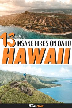 A guide to 13 of the best hikes in Oahu Hawaii. From easy to hard hiking in Oahu includes beautiful waterfalls North Shore views and incredible beaches. Tips on hiking bucket list trails like Stairway to Heaven Pillbox Diamond Head and more! Hawaii Vacation, Oahu Hawaii, Hawaii Travel, Dream Vacations, New Travel, Summer Travel, Travel Usa, Cool Places To Visit, Places To Travel