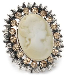 RAIN Adjustable Cameo Ring
