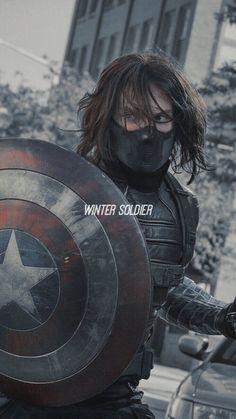 Marvel Man, Ms Marvel, Man Thing Marvel, Marvel Heroes, Marvel Comics, Winter Soldier Bucky, Sebastian Stan, Winter Soldier Wallpaper, Bucky Barnes Aesthetic