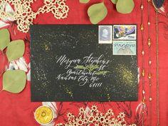 3 Speedy Mail Art Tutorials – The Postman's Knock Calligraphy Envelope, Envelope Art, Postman's Knock, Ink Painting, Mail Art, Art Tutorials, Poster, Create, Drawings