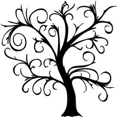 Wall Decal Tree Decorative by bushcreative on Etsy, $120.00