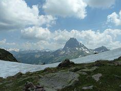 Le Pic du Midi d'Ossau en face