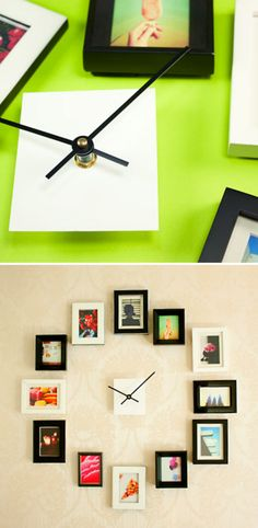 Photos Wall Clock