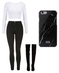 """""""Untitled #31"""" by tildalundquist on Polyvore featuring beauty, Cushnie Et Ochs, Topshop and Christian Louboutin"""