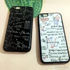 Geometry Math Bumper Case For Iphone 6 4.7inch Apple Iphone6 Plus 5 5s 6s Mathematical Formula Maths Hard Back Cases Mirror Protector Best Phone Cases Buy Cell Phones From Dengz, $1.75| Dhgate.Com