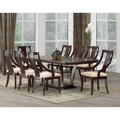 costco: aukland 10-pc. dining set | new kitchen table ideas, Esstisch ideennn