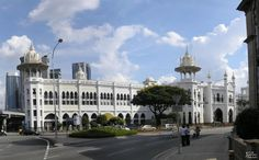 #KualaLumpurRailwayStation is the most beautiful Railway station in #Malaysia and it was opened in the year 1910.