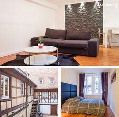 AirBnB apartment rental in Strasbourg, France #strasbourg #accommodation #france #airbnb