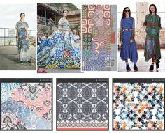 pretty mosaic 3 -patternbanks premiere vision s/s 16 trends 2016 Fashion Trends, 2016 Trends, Textures Patterns, Print Patterns, Tile Patterns, Ethnic Print, Season Colors, Ss16, Textiles