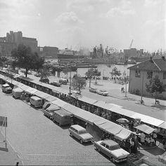 Markt op Rotterdam Zuid Waalhaven