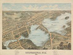 Oconomowoc, Wis. | Map or Atlas | Wisconsin Historical Society